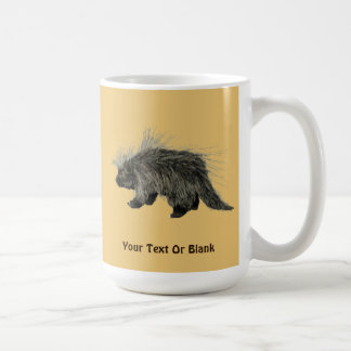 Porcupine Coffee Mug