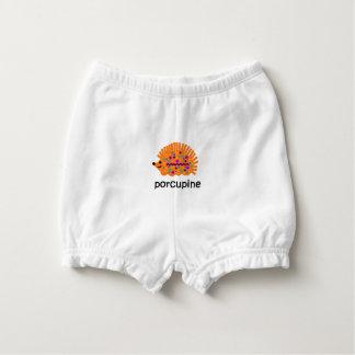 Porcupine Diaper Cover