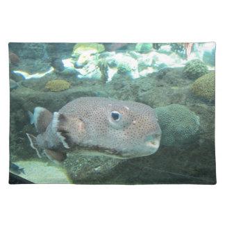 Porcupine Fish Close Placemat