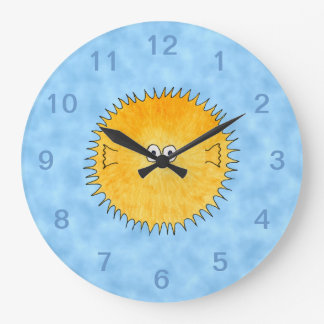 Porcupine Fish. Large Clock