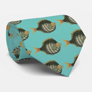 Porcupine Fish Tie