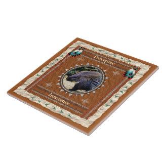 Porcupine  -Innocence- Ceramic Tile
