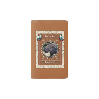 Porcupine  -Innocence- Notebook Moleskin Cover