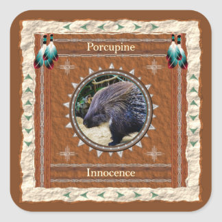 Porcupine  -Innocence- Stickers - 20 per sheet