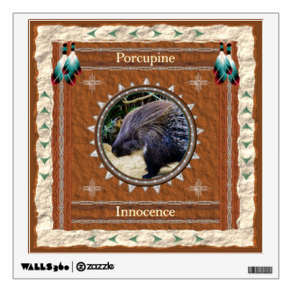 Porcupine  -Innocence- Wall Decal
