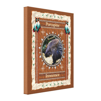 Porcupine  -Innocence- Wrapped Canvas