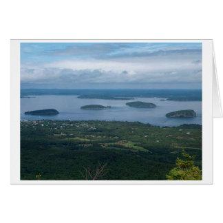 Porcupine Islands Maine Card
