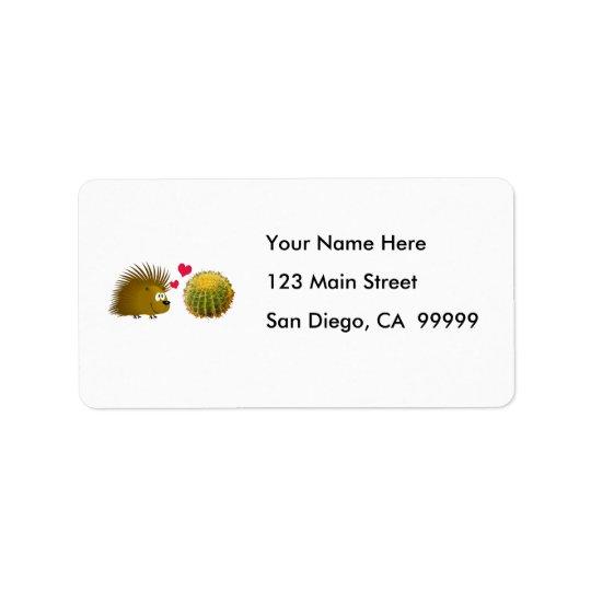 Porcupine Loves Cactus