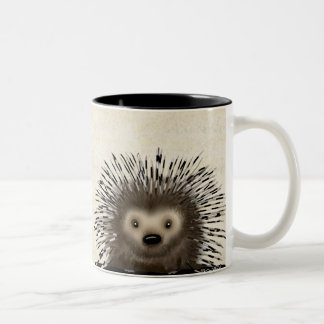 Porcupine Two-Tone Coffee Mug