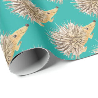 Porcupine Wrapping Paper