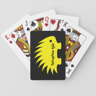 Porcupines Rule Playing Cards