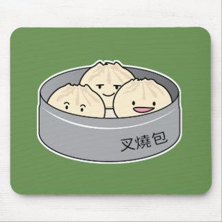 Pork Bun dim sum Chinese breakfast steamed bbq bun Mouse Pad