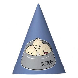 Pork Bun dim sum Chinese breakfast steamed bbq bun Party Hat