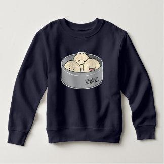 Pork Bun dim sum Chinese breakfast steamed bbq bun Sweatshirt