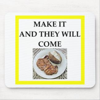 pork chop mouse pad