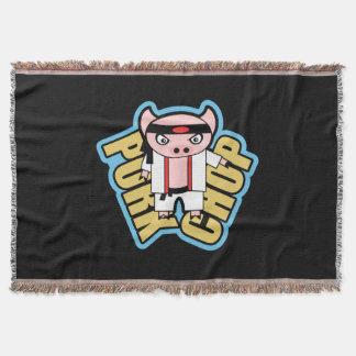 Pork Chop Throw Blanket