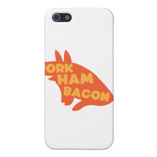 pork ham bacon iPhone 5/5S covers