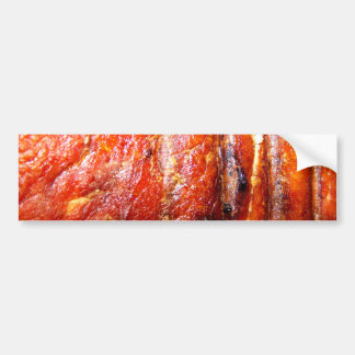 Pork Loin Roast Photo Bumper Sticker