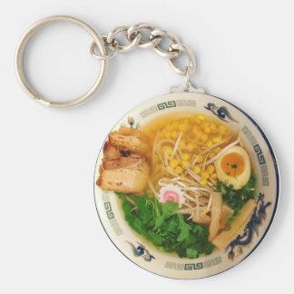 Pork Ramen Noodle Soup Keychain