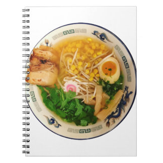 Pork Ramen Noodle Soup Notebooks