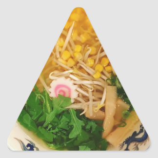 Pork Ramen Noodle Soup Triangle Sticker