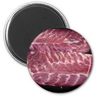 Pork Ribs 2 Inch Round Magnet