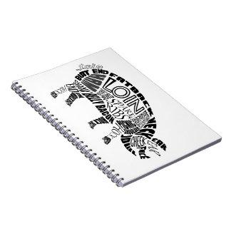 Pork Typogram Notebooks