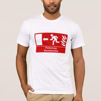 Porkchop Sandwiches Sign T-Shirt
