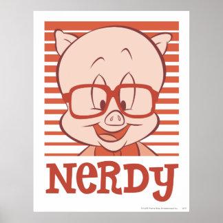 Porky - Nerdy Posters