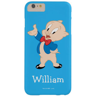 Porky Pig | Classic Pose Barely There iPhone 6 Plus Case