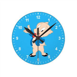 Porky Pig | Classic Pose Clock
