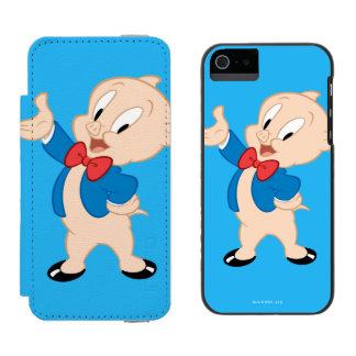 Porky Pig | Classic Pose Incipio Watson™ iPhone 5 Wallet Case