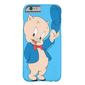 Porky Pig | Waving Hat Barely There iPhone 6 Case
