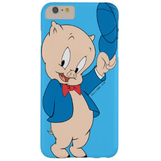 Porky Pig | Waving Hat Barely There iPhone 6 Plus Case