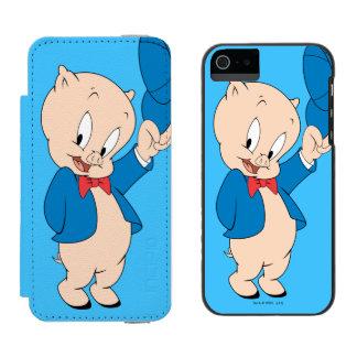 Porky Pig | Waving Hat Incipio Watson™ iPhone 5 Wallet Case