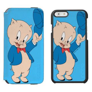 Porky Pig | Waving Hat Incipio Watson™ iPhone 6 Wallet Case