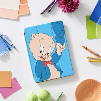 Porky Pig | Waving Hat iPad Air Cover