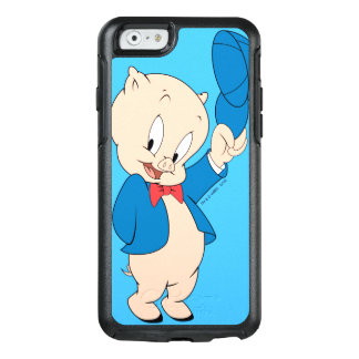 Porky Pig | Waving Hat OtterBox iPhone 6/6s Case