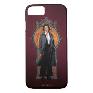 Porpentina Goldstein Art Deco Panel iPhone 7 Case