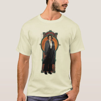 Porpentina Goldstein Art Deco Panel T-Shirt