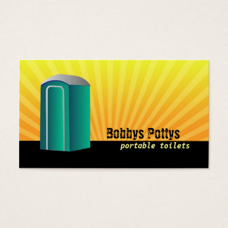 Port a Potty Business cards