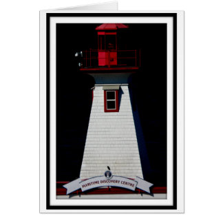 Port Alberni lighthouse all occasion card