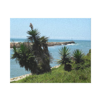 Port Alfred River Mouth Canvas Print