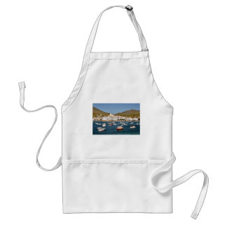Port and town of Cadaqués in Spain Aprons
