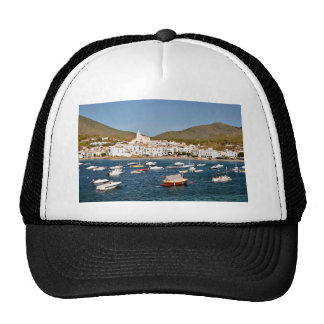 Port and town of Cadaqués in Spain Trucker Hat