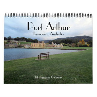 port arthur wall calendar