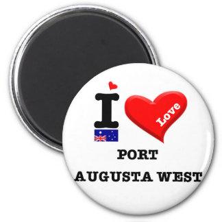 PORT AUGUSTA WEST - I Love Magnet