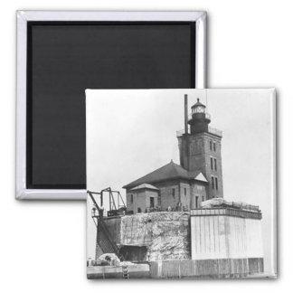 Port Austin Lighthouse Refrigerator Magnets
