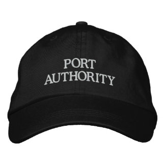 PORT AUTHORITY EMBROIDERED HAT