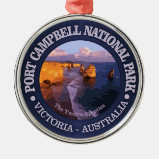 Port Campbell National Park (C) Metal Ornament